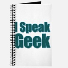 I Speak Geek Journal