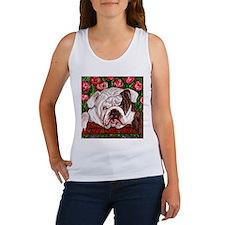 dog_bulldog_q01 Women's Tank Top