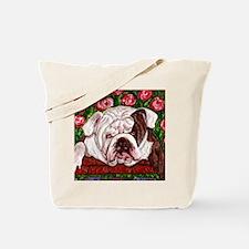 dog_bulldog_q01 Tote Bag