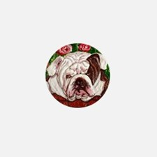 dog_bulldog_q01 Mini Button
