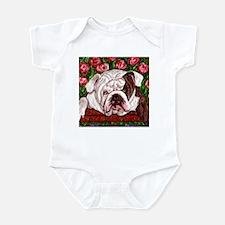 dog_bulldog_q01 Infant Bodysuit