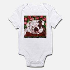 dog_bulldog_q01 Onesie