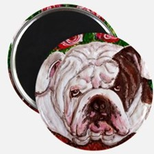 "dog_bulldog_q01 2.25"" Magnet (10 pack)"