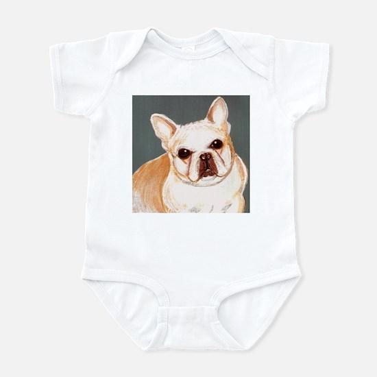 dog_french_q01 Infant Bodysuit