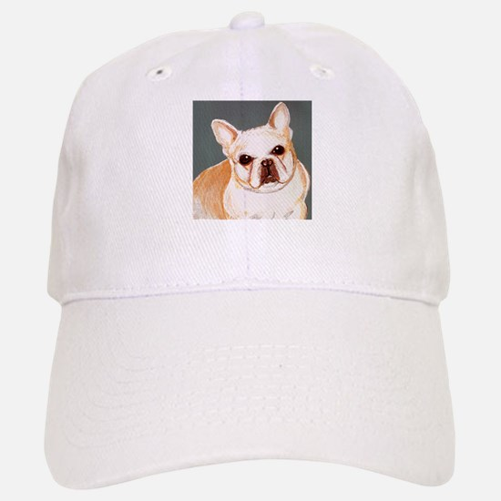 dog_french_q01 Baseball Baseball Cap