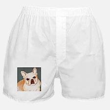 dog_french_q01 Boxer Shorts