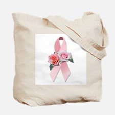 THINK PINK Roses Tote Bag