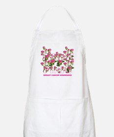 THINK PINK Roses BBQ Apron