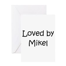 Cute Mikel Greeting Card