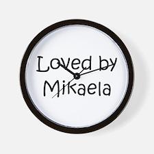 Unique Mikaela Wall Clock
