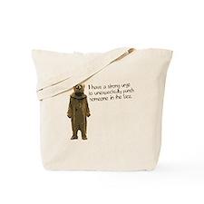Wicker Man Bear Suit Punch Tote Bag
