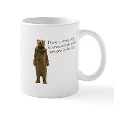 Wicker Man Bear Suit Punch Mug