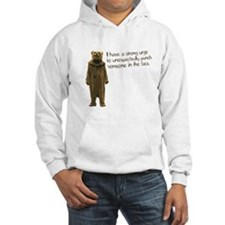 Wicker Man Bear Suit Punch Jumper Hoody