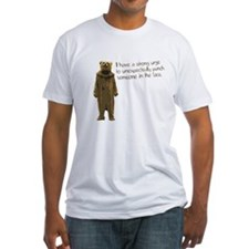 Wicker Man Bear Suit Punch Shirt