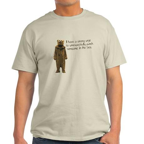 Wicker Man Bear Suit Punch Light T-Shirt
