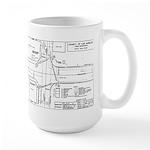 County Signal Number 1 Large Mug