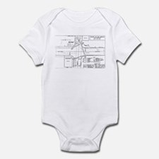 County Signal Number 1 Infant Bodysuit