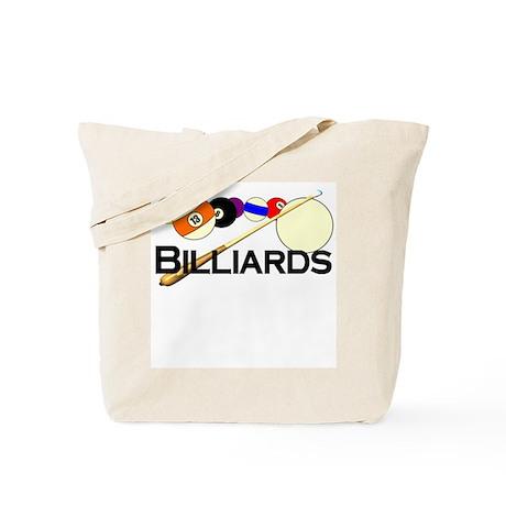 Billiards Tote Bag