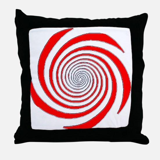 Gaze deeply. Throw Pillow