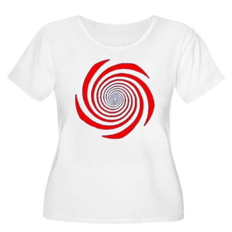 Gaze deeply. Women's Plus Size Scoop Neck T-Shirt