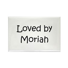 Cute Moriah Rectangle Magnet