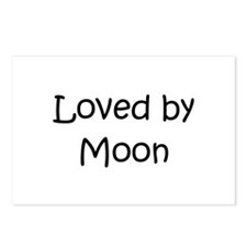 Cute Moon names Postcards (Package of 8)