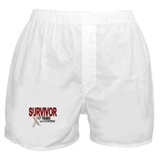 Lung Cancer Survivor 17 Years 1 Boxer Shorts