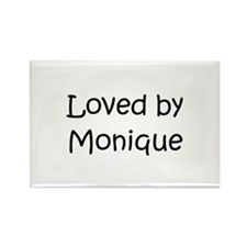 Cute Monique Rectangle Magnet