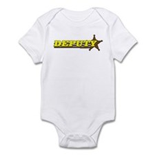 DEPUTY ~ YELLOW-BROWN Infant Bodysuit