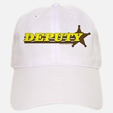 DEPUTY ~ YELLOW-BROWN Baseball Baseball Cap
