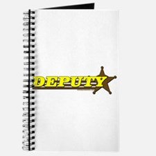 DEPUTY ~ YELLOW-BROWN Journal