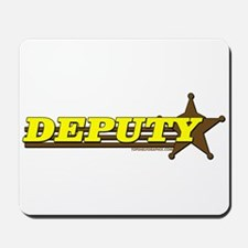 DEPUTY ~ YELLOW-BROWN Mousepad