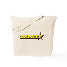 DEPUTY ~ YELLOW-BROWN Tote Bag