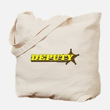 DEPUTY ~ YELLOW-BROWN Tote Bag