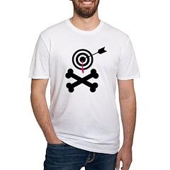 Poison Bullseye Crossbones Design Shirt