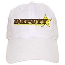 DEPUTY ~ BROWN-YELLOW Baseball Cap