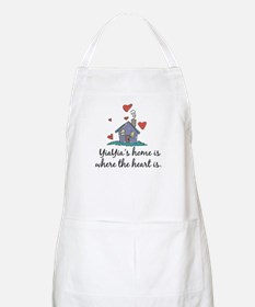 YiaYia's Home is Where the Heart Is BBQ Apron