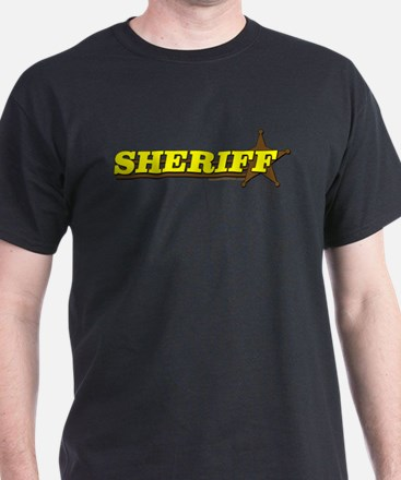 SHERIFF ~ YELLOW-BROWN T-Shirt