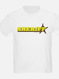 SHERIFF ~ YELLOW-BROWN T-Shirt