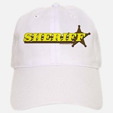 SHERIFF ~ YELLOW-BROWN Baseball Baseball Cap