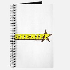 SHERIFF ~ YELLOW-BROWN Journal