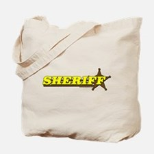 SHERIFF ~ YELLOW-BROWN Tote Bag