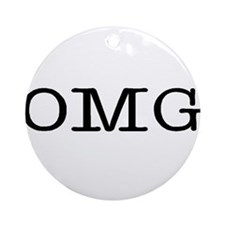 omg Ornament (Round)