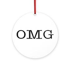 omg Ornament (Round)