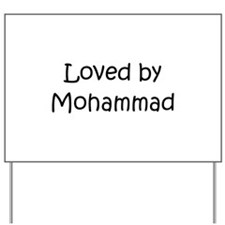 Cute Mohammad Yard Sign