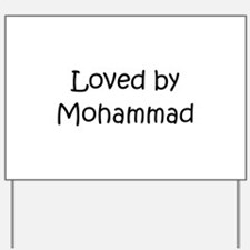 Funny Mohammad Yard Sign