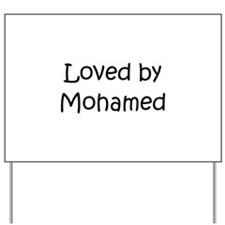 Unique Mohammed Yard Sign