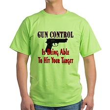 GUN CONTROL ~ HANDGUN T-Shirt