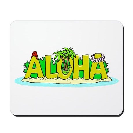 Hawaii Pride! Mousepad