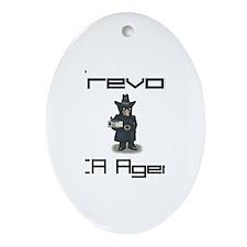 Trevor - CIA Agent Oval Ornament